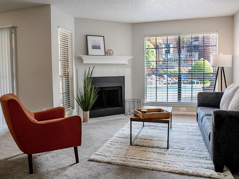 Model Living Room | Reflections at Highpoint