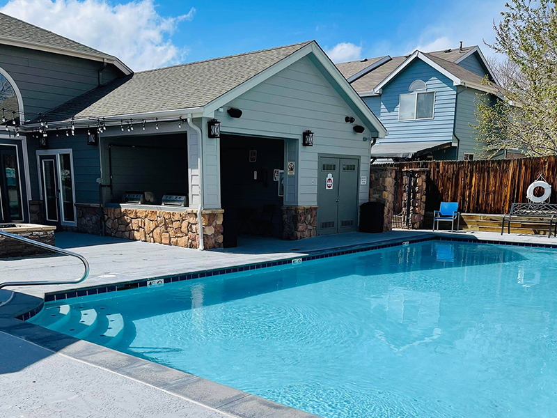Swimming Pool | Echo Ridge at North Hills