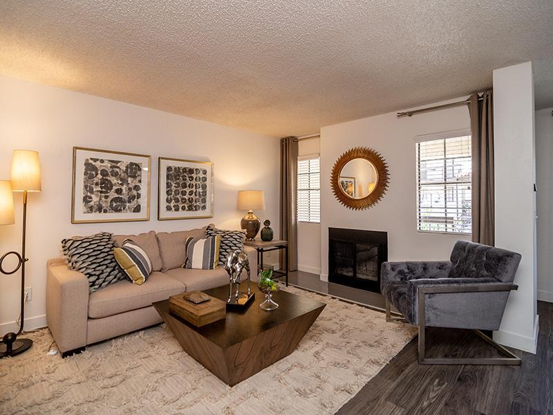 Apartment Interior Living Room | Entrada Tucson Apartments