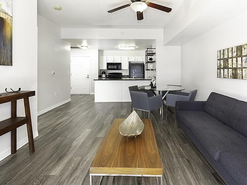 Living Room | Elevate on 5th in Salt Lake City, UT