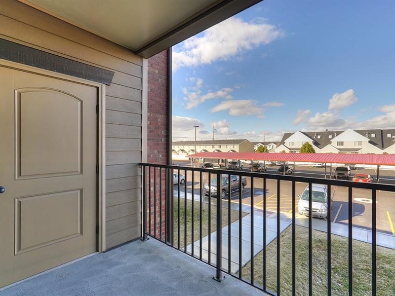 Balcony View | Fernwood Place Apartments