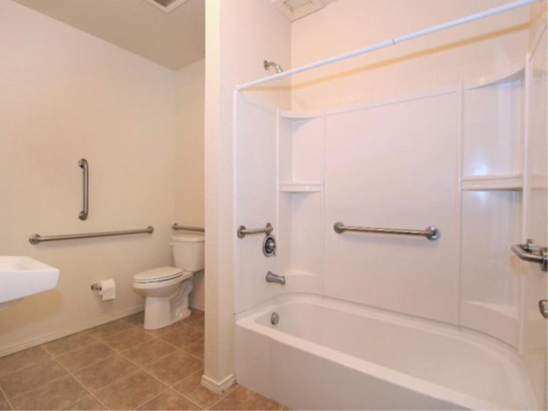 Bathroom | The Incline Apartments