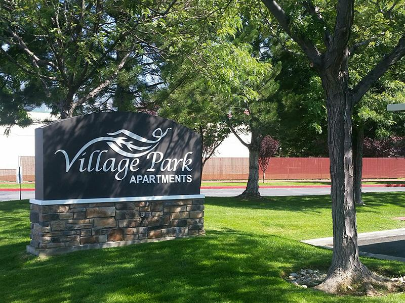 Front Sign | Village Park Apartments