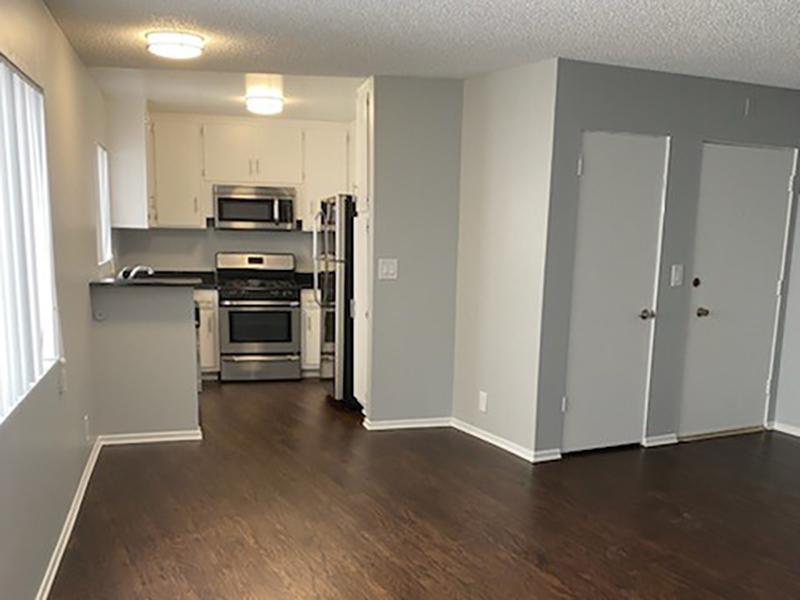 Living Room & Kitchen | Studio City Midrise