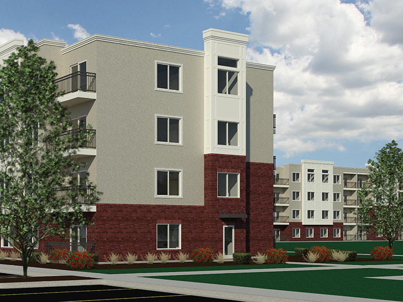 Exterior Rendering   Station on 17th