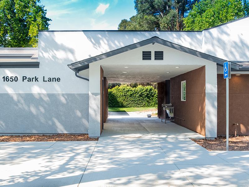 Main Entrance   Parkside Villa Apartments in Fairfield, CA