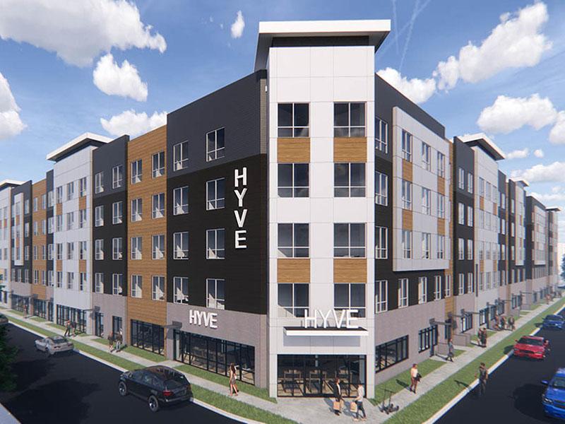 Exterior   Hyve Apartments in Salt Lakeq
