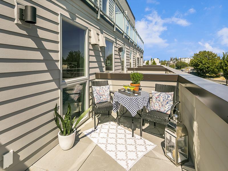 Balcony | Studio | Cubix Crown Hill