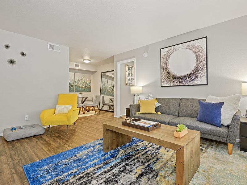 Model Living Room | Portola East Mesa