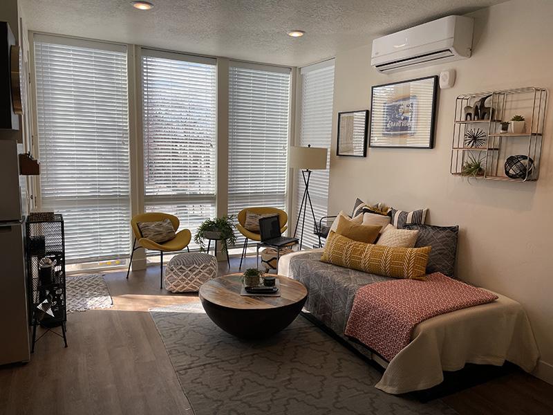 Living Room   9th Station Apartments in Salt Lake City, UT
