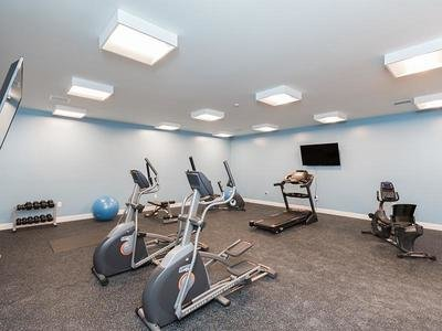 Fitness Center | 222 Park Place Apartments