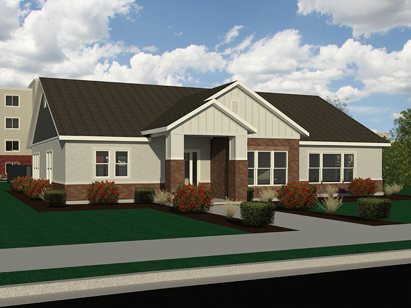 Clubhouse Rendering | Station on 17th