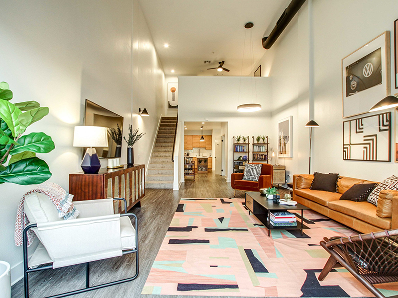 Living Room | The Oasis Apartments