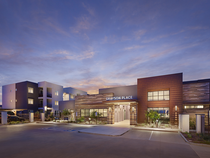 Apartment Entrance | Grayson Place Apartments in Goodyear, AZ