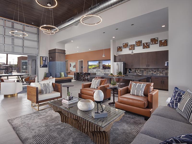 Clubhouse Entrance | Copper Falls Apartments in Glendale, AZ