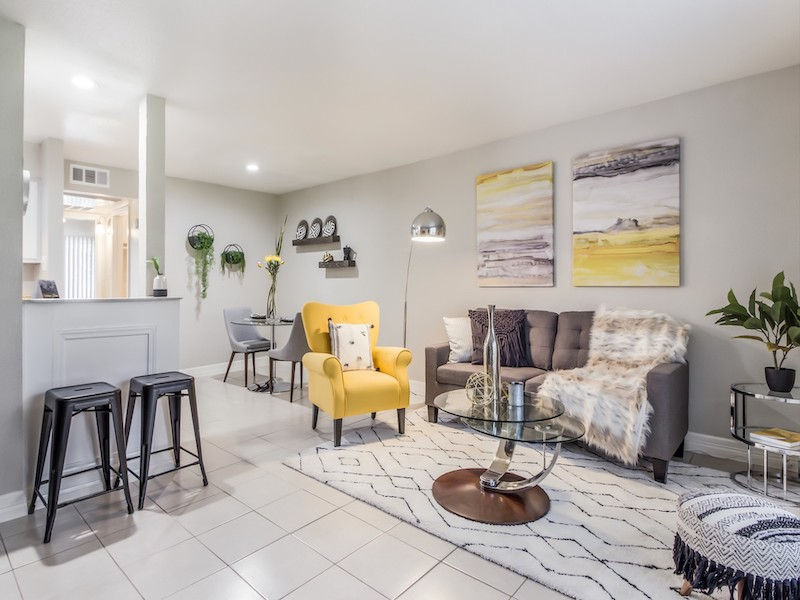 The Reserve at Bellfort | Apartment Living Room