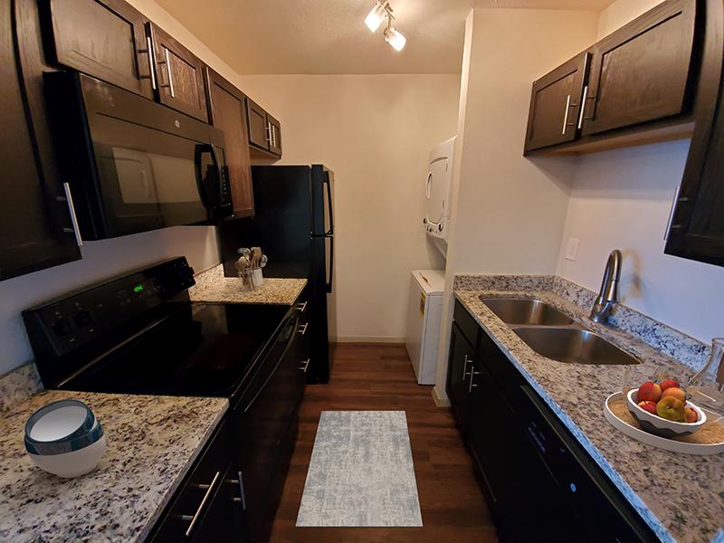 Kitchen - Staged | San Antonio Station Apartments