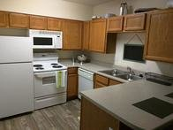 Kitchen | Village at Rivers Edge Apartments