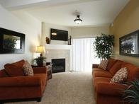 Living Room | The Village at Silver Ridge