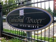 Cathedral Tower Apartments - Sign - Detroit MI
