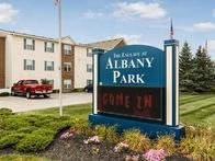 Welcome Sign | Enclave at Albany Park