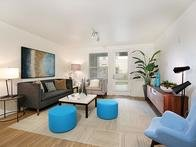 Living Room | Tempo at Riverpark Apartments