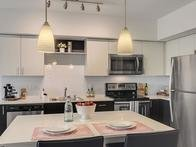 Tria apartments Kitchen
