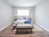 Bedroom | Aspenwood Apartments in West Valley City