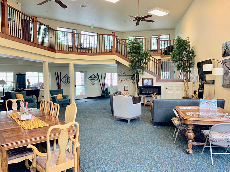 Clubhouse Interior | Riley Court Apartments