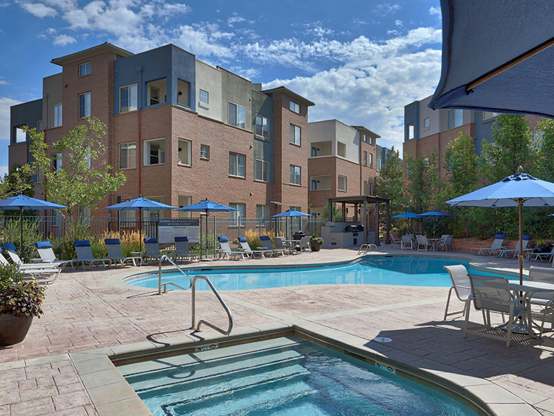 The Rail at Inverness Apartments in Lakewood, CO