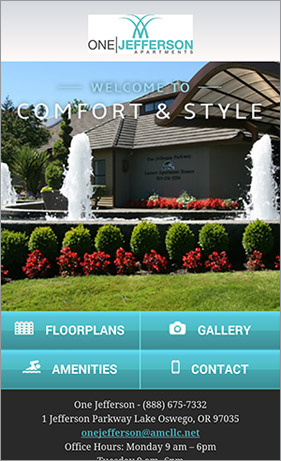 apartment website design. We Create A Mobile-specific Version Of Your Website, Designed To Engage Customers And Convert Prospects With An Intent-based Interface. Apartment Website Design