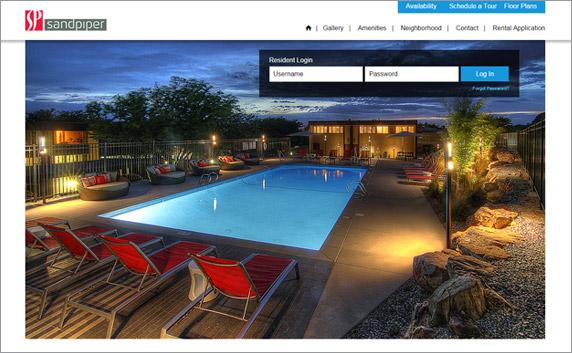 Responsive Websites Web Design Apartment Marketing Magnificent Apartment Website Design