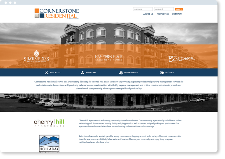 Property Management Websites for ownership groups in the USA