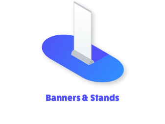Apartment and multifamily banner stands design