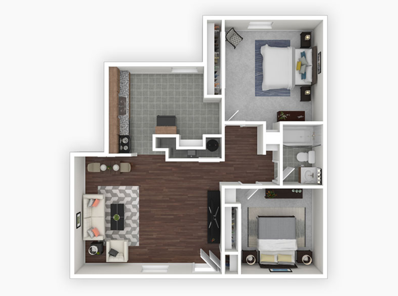 multifamily design 3d floor plans