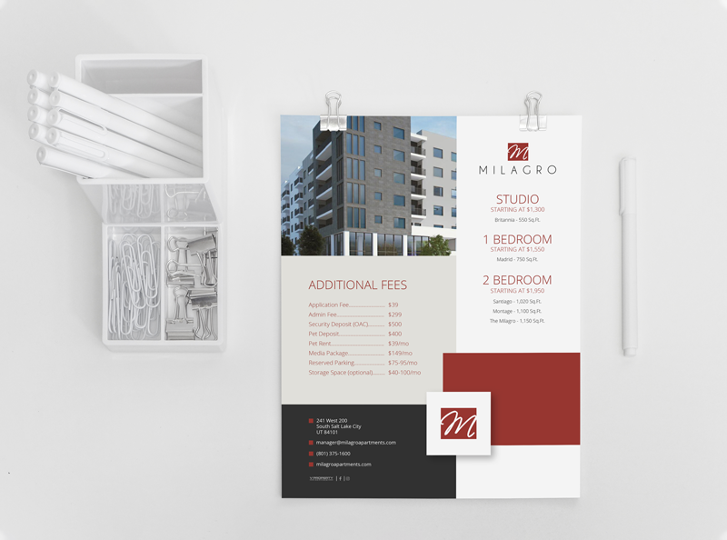 multifamily flyer designs
