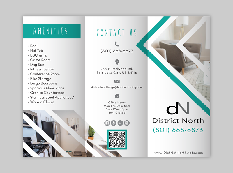 Apartment and multi-family brochure in the USA